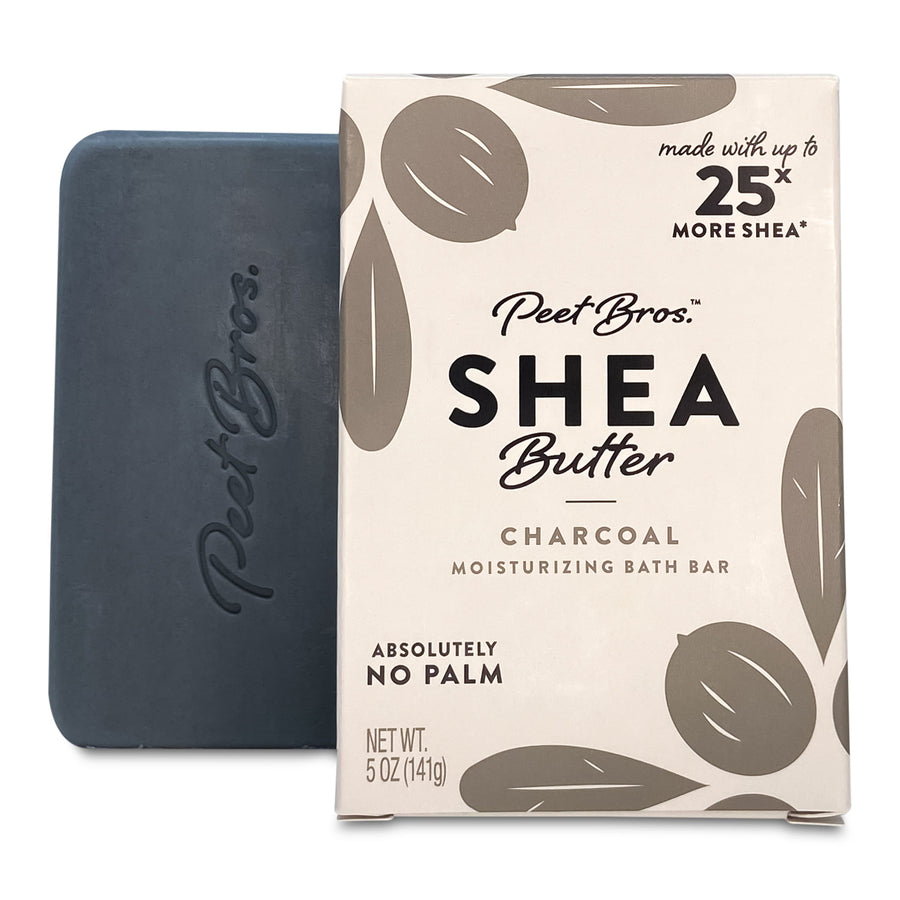 Charcoal Soap with Shea Butter