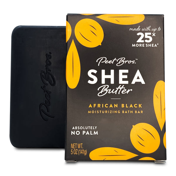 Peet Bros African black soap with shea butter