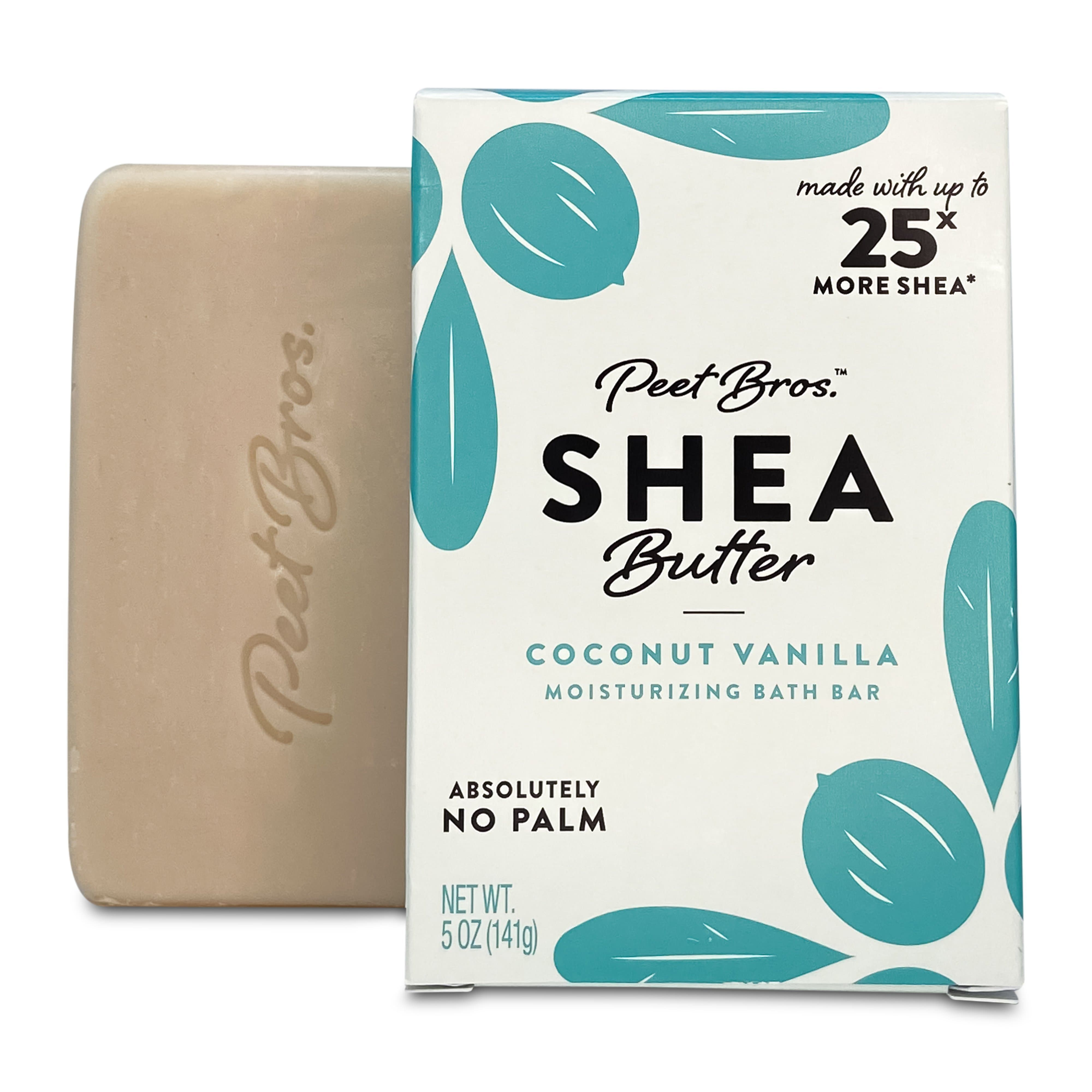 Shea Butter Bar Soap Coconut Vanilla