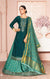 Long Suit With Lengha and Fancy Dupatta in Blue Color (K14)