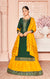 Long Suit With Lengha and Fancy Dupatta in Green Color (K14)