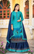 Long Suit With Lengha and Fancy Dupatta in Blue Color (K21)