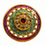 Adjustable Gold Plated Kundan Ring (D1)