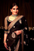Designer Black and Golden Bridal Saree