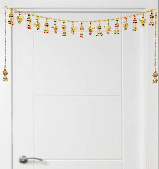 Designer Door Hanging Toran with Wall Hanging (Design 2)