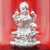 999 Pure Silver Lakshmi Circular Idol with money