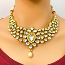 Gold Plated Kundan Set