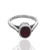 925 Sterling Silver Ruby Gemstone Ring (D19)