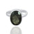 925 Sterling Silver Smoky Quartz Gemstone Ring (D22)