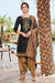 Silk Cotton Suit With Patiala Salwar and Fancy Dupatta (122)