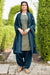 Silk Cotton Suit With Patiala Salwar and Fancy Dupatta (128)