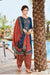 Silk Cotton Suit With Patiala Salwar and Fancy Dupatta (121)