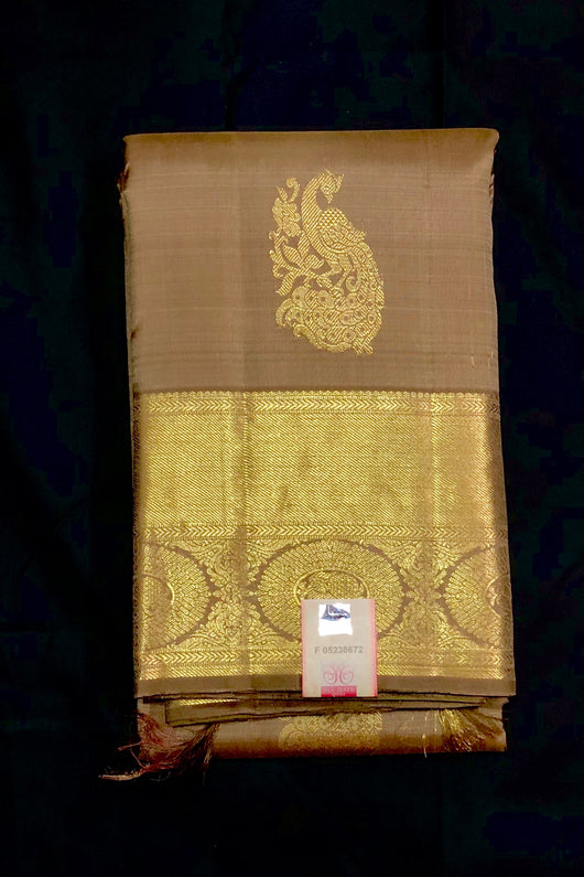 Silk Mark Certified Designer Pure Kanjivaram Silk Saree (D3)
