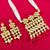 Beaded Gold Plated White Kundan Set (28)