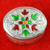 925 Pure Silver Kumkum Box (Design 3)