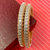 American Diamond and Rose-Gold Bangles (Design 30)
