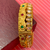 Openable Semi-Precious Ruby and Emerald Stone Bracelet (Design 34)