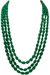 Beryl Emerald Gemstone Necklace (Design 1)