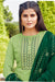 Silk Cotton Suit With Patiala Salwar and Fancy Dupatta (126)