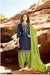 Silk Cotton Suit With Patiala Salwar and Fancy Dupatta (105)