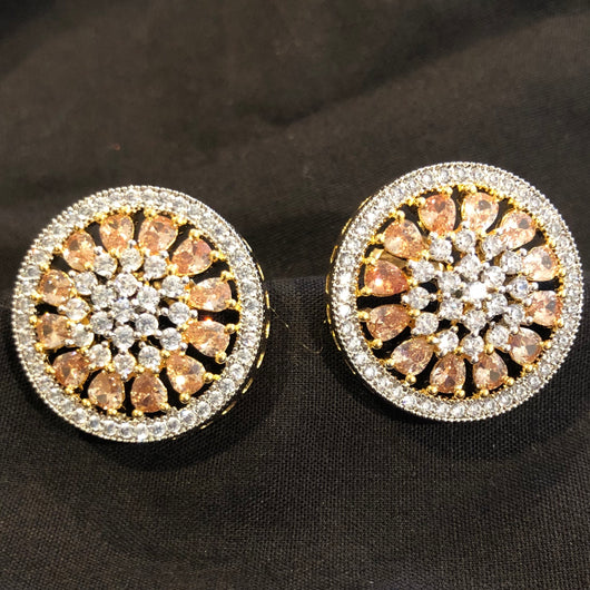 Unique American Diamond Studs