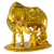 Golden Kamdhenu Cow and Calf with Balkrishna