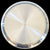 925 Solid Silver 11 Inches Simple Plate (Design 8)