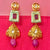 Gold Plated Kundan Earrings (Design 38)