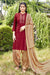 Silk Cotton Suit With Patiala Salwar and Fancy Dupatta (124)