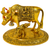 Small Golden Kamdhenu Cow and Calf