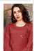 Cotton Kurti with Pant and matching Mask (D57)