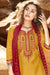 Silk Cotton Suit With Patiala Salwar and Fancy Dupatta (101)