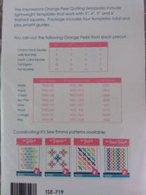 Load image into Gallery viewer, Orange peel quilting template set by It's sew emma.