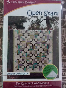 Open stars pattern by Cozy Quilt Designs