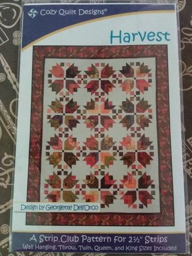 Harvest pattern by Cozy Quilt Designs