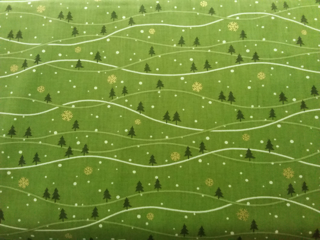 Mistletoe by Andover Fabric
