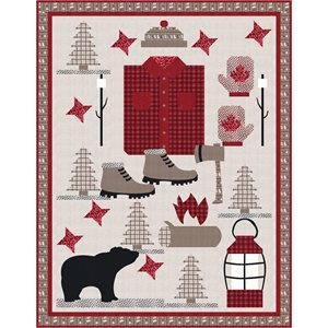 In the Canadian Outback Pattern by Coach House Designs