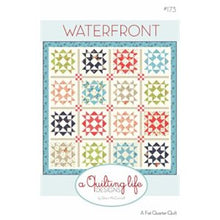 Load image into Gallery viewer, Waterfront by a quilting life designs