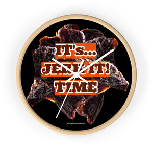 It's JERK IT! TIME Wall clock