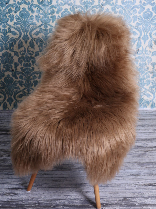 Icelandic Sheepskin Rug Honey