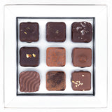 cacao-sampaka - Premium Assorted Handcrafted Chocolate - 9 Pcs Set (Select your own favour) | 精選手工朱古力 - 9件裝 (自選口味)