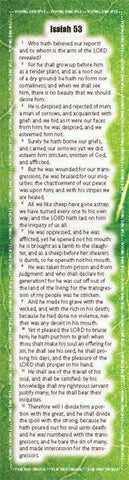 Project: Memory Bookmark (Isaiah 53)