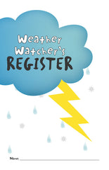 Weather Watcher's Register, set of 10