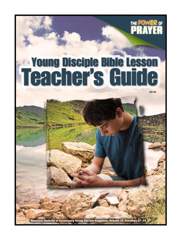 Teacher's Guide (2018Q3 / V27Q3 - The Power of Prayer)