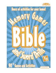 Bible Memory Games and Sword Drills (Group/ Family Edition)