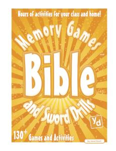 Bible Memory Games and Sword Drills (Teacher's Edition)