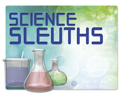 Door Sign in Color: Science Sleuths