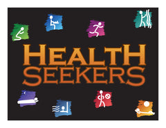 Door Sign in Color: Health Seekers