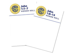Honor Rolls in color: John 1: 1-14