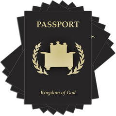 Passport Booklet (pack of 10)